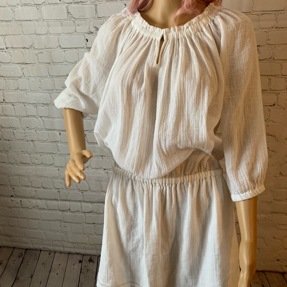 J. Crew Other - J Crew white cotton cover up